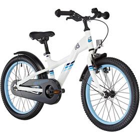 s'cool XXlite 18 Lapset lasten polkupyörä steel , valkoinen